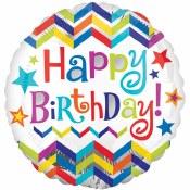 Birthday Chevron Supershape