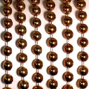 Metallic Beads Copper