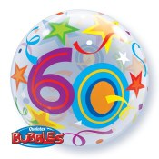 60th Bubble Balloon