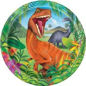Dinosaur Lunch Plates