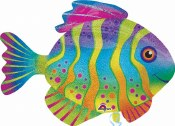 Colourful Fish Foil Balloon