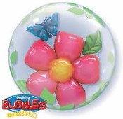 Flower Balloon Double Bubble