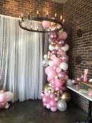 Balloon Air Solid Garland