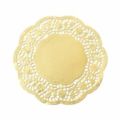 Doilies Gold-8.5in