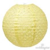 Lantern Large Eyelet Yellow