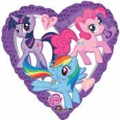 My Little Pony Heart Foil