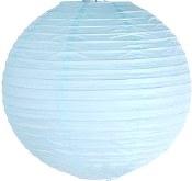 Lanterns 10in Lite Blue