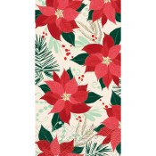 Poinsetta Guest Towels