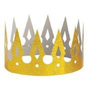 Gold Prismatic Paper Crown