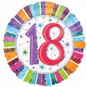 18th Birthday Foil Balloon
