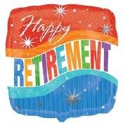 Retirement 18in Foil