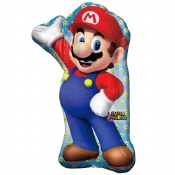Mario Brothers Supershape Foil