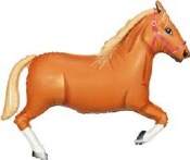Tan Horse Supershape Foil
