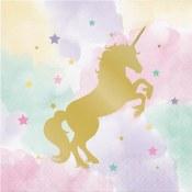 Unicorn Sparkle Lunch Napkins