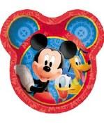 Mickey Shaped Plates
