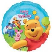 Winnie Birthday Foil Balloon