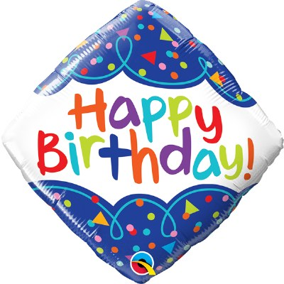 Birthday Confetti Balloon
