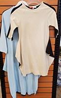 2 Tone Flair Dress-Beige-10-