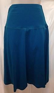 Cotton Foldover Skirt