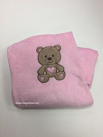 Baby Cuddly Lt Pink Blanket
