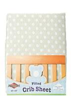Polka Dot Design Crib Sheet
