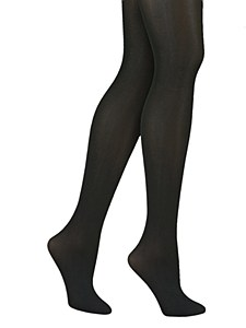 DKNY Opaque Coverage Control Top Tights # 412