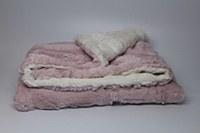 Fur Cozy Blanket - Pink