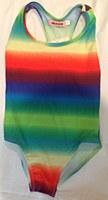 Girls Bathing suit Rainbow
