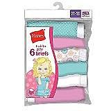 Hanes Toddler Girls Briefs 7 pack #GTHMT7