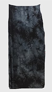 Black TieDie Slinky Skirt