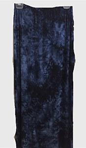 Blue TieDie Slinky Skirt