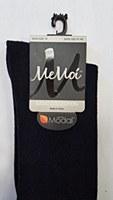 Memoi Model Cotton Basic Knee Socks # MK-5057