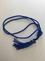 Rope Tassel Belt - Cobalt