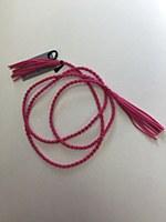 Rope Tassel Belt - Pink
