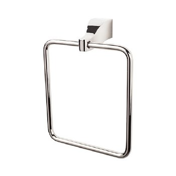 Aqua Bath Towel Ring in Polished Nickel