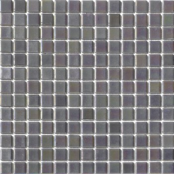 "Platino Ashes/Ceniza Mosaic 1X1"" on 13.25X13.25"" Sheet"