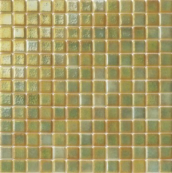 "Titanio Mint Mosaic 1X1"" on 13.25X13.25"" Sheet"