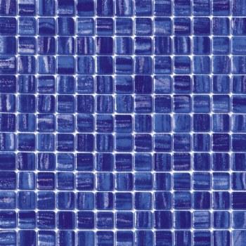 "Cosmos Cobalt Mosaic 1X1"" on 13.25X13.25"" Sheet"