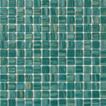 "Cosmos Green Mosaic 1X1"" on 13.25X13.25"" Sheet"