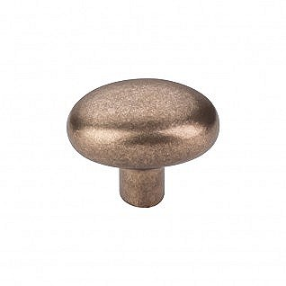"Aspen Potato Knob Small 1-9/16"" in Light Bronze"