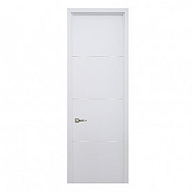 "Mera Laquered White Door Pack 36"" X 96"" X 1-3/8"