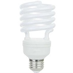 26 Watt Super Mini Spiral, Medium Base, Daylight