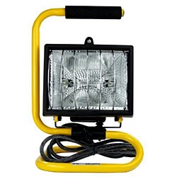 Sunlite Halogen Work Lamp Portable Fixture, QF444