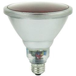 Sunlite 23 Watt Colored PAR38 Reflector, Medium Base, Red, SL23PAR38/R