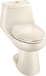 Niagara 1-pc 1.6/1.1 GPF  ALL-IN-ONE Elongated Comfort Height Toilet with Seat in White