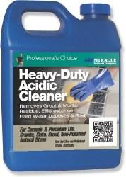 Miracle Heavy-Duty Acidic Cleaner Qt., HDAC 6/1 QT