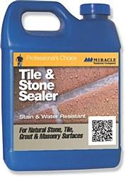 Miracle Tile & Stone Sealer Pint, TSS PT 6/1