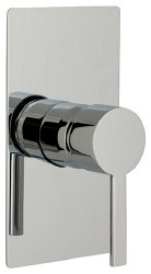 MZ Bress Trim Only, Shower Only, in Chrome, Rough-in Sold Separately