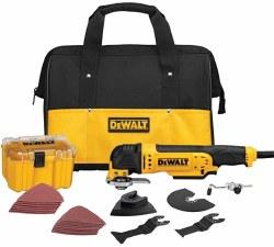 Oscillating Multi-Tool Kit, DWE315K, Yellow