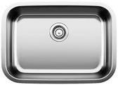 """Stellar Medium Single Bowl Undermount Kitchen Sink 25X18"""""""
